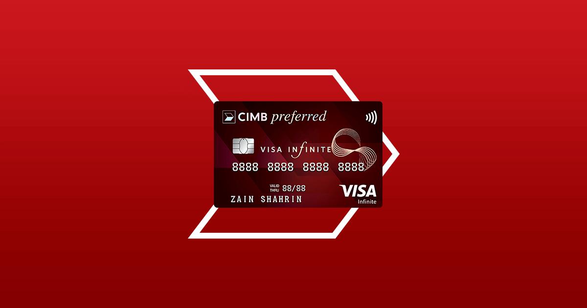 Cimb Preferred Visa Infinite Credit Card Cimb Preferred